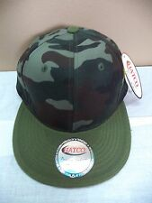 Camouflage Green & Brown Baseball Caps & Boonie Hats New & VGC Hunting Fishing
