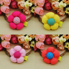10pcs/lot Kids Baby Girls flowers hair clips hairpins Children Hair accessories