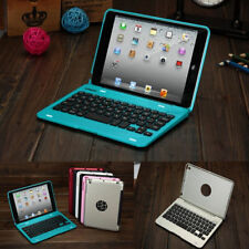 Slim Foldable Wireless Bluetooth Rechargeable Keyboard Case Cover For iPad Mini