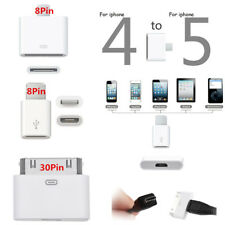 Micro USB Cable Converter Adapter Charger for iPhone 5 5S 6 6Plus iPad Air Mini