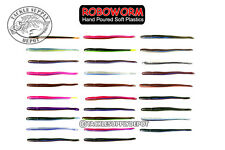 Roboworm FAT Straight Tail Worm Finesse 4.5in 8pk - Pick