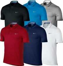 Nike Dri-Fit Classic Dry Washed Logo Chest Polo Mens Funky Golf Polo Shirt