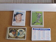 2006 Topps Heritage Complete Base Set w. 3 Insert Set's and 5 C.L.'s