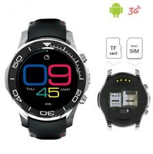 3G wrist smartwatch phone bluetooth 4.0 2.0MP camera WiFi GPS 1.2GHz for android