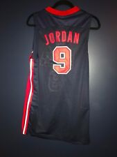NWT Michael Jordan #9 Team USA Basketball Blue Jersey Stitched Men