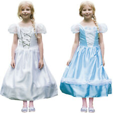 Girls Reversible Princess and Bride Costume 2 in 1 Fancy Dress 3-11 Years Amscan