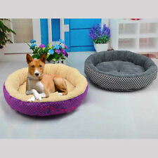1 pc Soft Flannel Pet Dog Puppy Cat Kitten Warm Bed home House Cozy Nest Mat Pad