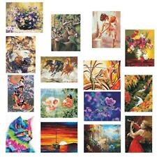 50*40cm DIY Digital Oil Painting Paint By Number Kit Canvas Picture Wall Art