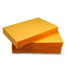 """5-1000 #5 10.5x16 Kraft Bubble Padded Mailers Seal Envelopes 10.5""""x16 10.5""""x15"""""""