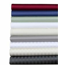 1000 TC Egyptian Cotton US Queen Size All Bedding Items & Solid/Stripe Colors