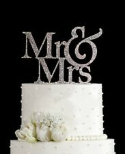 Mr Mrs Wedding Cake Topper Party Decor Love Romantic Couple Bride Groom Sweet