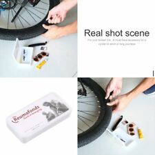 Flat Rubber Tire Tyre Tube Patch Glue Cycling Bicycle Bike Repair Fix Kit mend