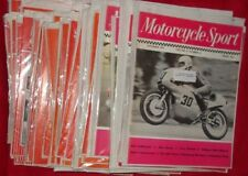 MOTORCYCLE SPORT MAGAZINES Issues from 1972 - 1990  SELECT MAGAZINE ISSUE