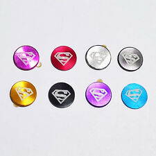 Metal Home Button superman logo Sticker for Apple iPod Touch 6 5 4 3 2 iPhone