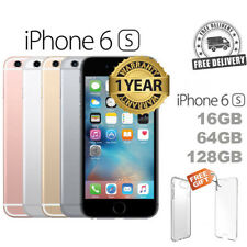 Apple iPhone 6s and 6s Plus 16GB 64GB 128GB Factory Unlocked Sim Rose Gold Grey