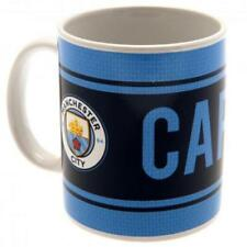 Manchester City Official Football Club Merchandise Mugs, Scarves, Keys, signs