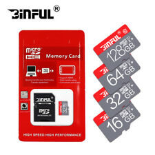 New Micro SD Card 64GB TF Card SDXC Class 10 High Speed With Free Adapter
