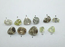 0.07~0.23Cts Multi Color Multi Shape Solitaire Diamonds VS-SI clarity