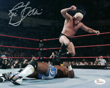 RIC FLAIR AUTOGRAPHED/SIGNED WWE WRESTLING 8X10 PHOTO 15120 STOMPING JSA