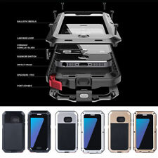 Waterproof Shockproof LUPHIE Aluminum Metal Case Cover for iPhone 6S 7 8 X Plus