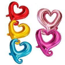 """10pcs Love Hearts Foil Balloons Wedding Party Valentine's Day Decoration 18"""""""