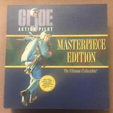 "GI Joe Masterpiece Edition Action Pilot Book And 12"" Action Figure Hasbro"