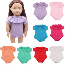 8 colors lovely Girls Doll Baby Doll Jumpsuit Clothes Accessories
