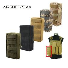 AIRSOFTPEAK Tactical Vest Pouch Accessory Tool Waist Bag Nylon Molle Utility Fan