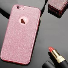 Ultra Thin Glitter Bling TPU 6 7 Cover Fashion Candy Crystal Soft Gel Phone Case