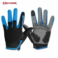 KUTOOK Men's Cycling Gloves Women Full Finger Bike  MTB Mountaina Bicycle Gloves