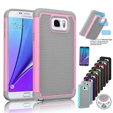 Hybrid Rugged Shockproof Rubber Hard Cover Case Skin for Samsung GALAXY J3 Note5