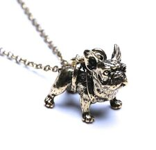 Adorable Pug Bulldog Dog Necklace lovely Puppy Bull Dog Fashion Jewelry NEW