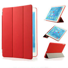 Slim Magnetic Leather Smart Cover Hard Back Case For Apple iPad 2 3 4 5 6 Air 2