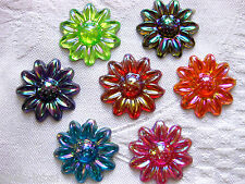 20 flowers applications, 30 mm,in various Colours,Color selectable (A33)