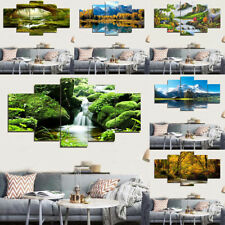 Large Canvas Huge Modern Home Wall Decor Art Oil Landscape Painting Picture