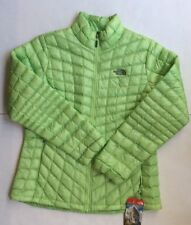 Women's The North Face Thermoball Full Zip Jacket Budding Green S/M