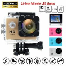 "New SJ4000 Waterproof Sports DV 1080P HD Video Action Camera 2.0"" Screen AU"