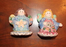FIG-F001 Assorted Country Angels and Animal Figurines
