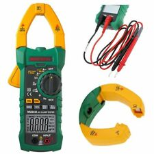 MASTECH AC DC Voltage Digital Clamp Meter Multimeter 1000A 6000 Counts BS
