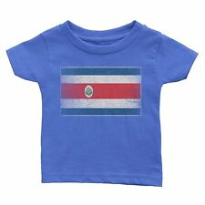 Nyc Factory Costa Rica Flag Tee Kids T-Shirt Youth Vintage Retro I Nyc Factory