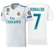 ADIDAS C. RONALDO REAL MADRID ADIZERO HOME MATCH CHAMPIONS LEAGUE JERSEY 2017/18