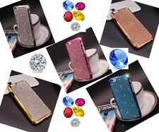Bling Swar-oski Elements Crystal Diamond Case Cover Skin For iPhone 5 6 6s Plus
