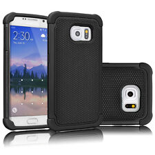 Hybrid Rugged Shockproof Rubber Hard Cover for Samsung GALAXY S3 i9300 S6 S7 NEW