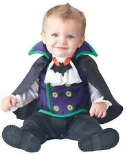 Baby Boys Girls Count Cutie Vampire Halloween Fancy Dress Costume Outfit 0-24mth
