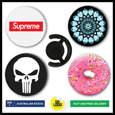 Expanding Pop Socket Grip + FREE CAR MOUNT CLIP PopSockets Phone Holder Stand