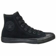 Converse Chuck Taylor All Star Hi Black Womens Suede Counter Climate Trainers