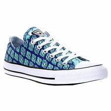Converse Chuck Taylor All Star Ox Indigo Green Glow Womens Canvas  Trainers