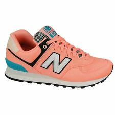 New Balance 574 Art School Bleached Sunrise Womens Mesh Lace-up Low-top Trainers