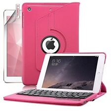 Rose Keyboard Case iPad Mini 3 2 1 Rotating 360 Degree Leather PU Gift Brand New