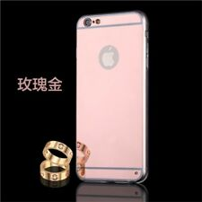 Luxury Plating Bing Mirror Soft TPU Frame Case Cover For iPhone Models